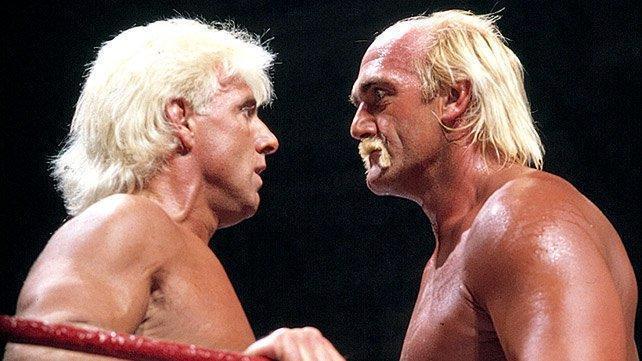 Hulk Hogan y Ric Flair