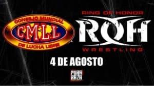 Se confirman las primeras dos luchas del evento conjunto del CMLL y ROH 31
