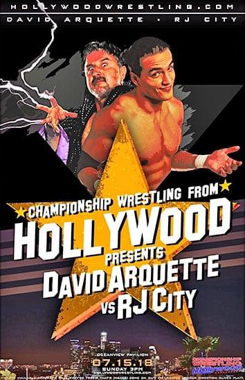 La reacción en vestidores cuando David Arquette ganó el título WCW 3