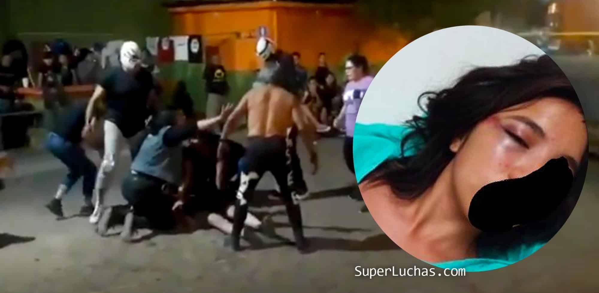 La Enigmática: Lo lamentable de la lucha libre quedó en evidencia 1
