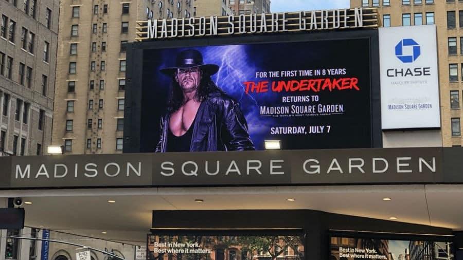 Ante la baja venta de boletos, Undertaker estará en el SD Live del MSG 1
