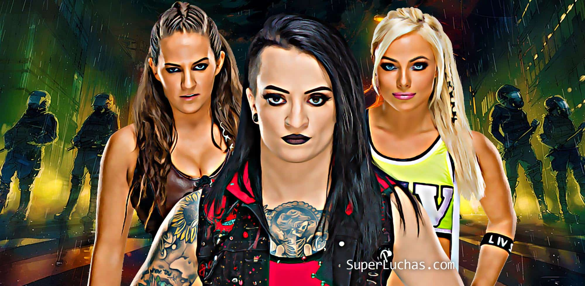 Ruby Riott, Sarah Logan Liv Morgan