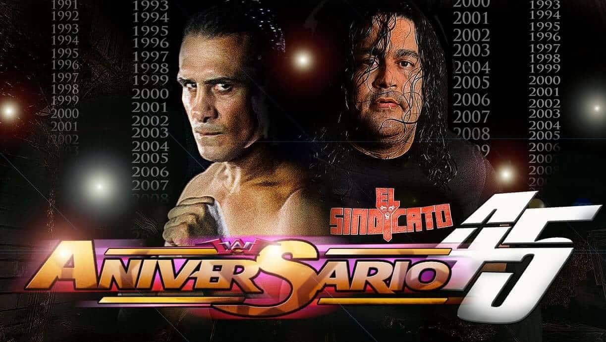 WWC: Cartelera para ANIVERSARIO 45 | Alberto el Patrón vs Ray Gonzalez 1