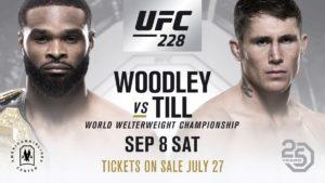 Tyron Woodley defenderá el título welter ante Darren Till en UFC 228 1