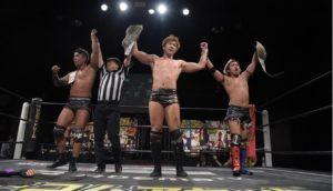 "DDT:""Live! Maji Manji 12"" All Out vs. Sendai por título de tercias 17"