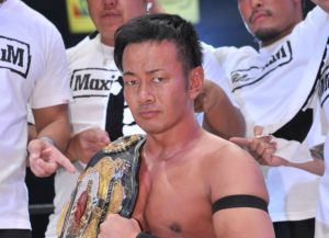 "Dragon Gate:""Kobe PW Festival"" Masato Yoshino defiende su cinturón 31"