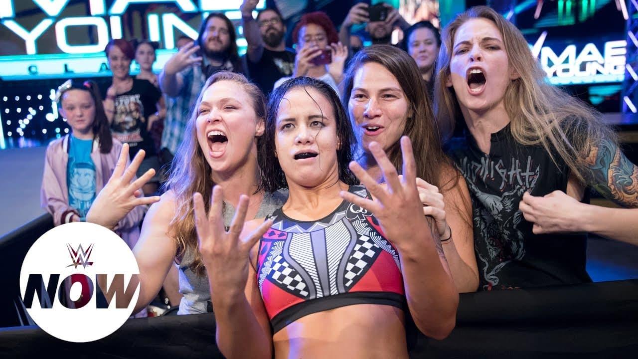 Ronda Rousey y Shayna Baszler