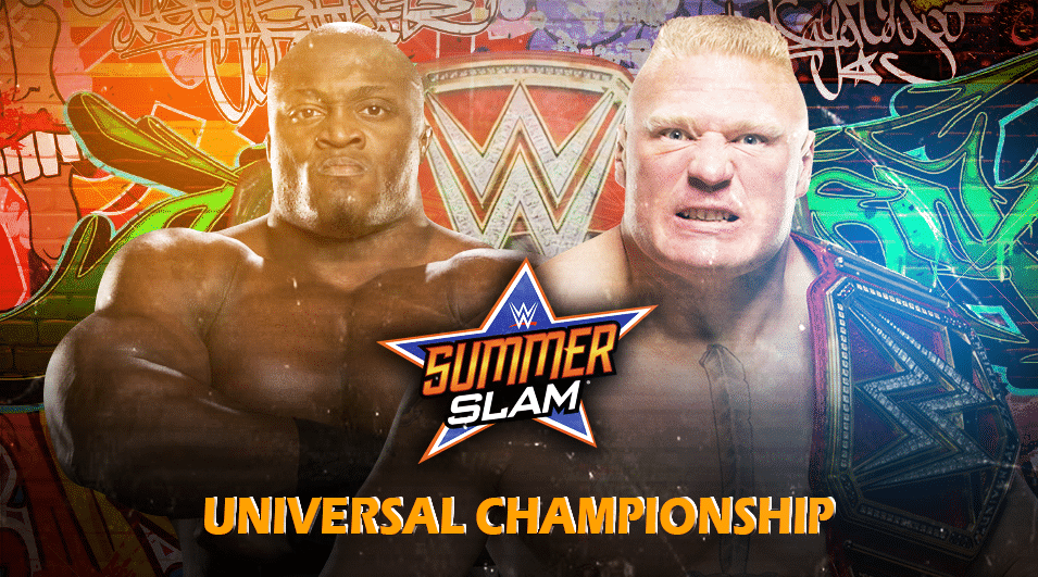 Brock Lesnar vs Bobby Lashley