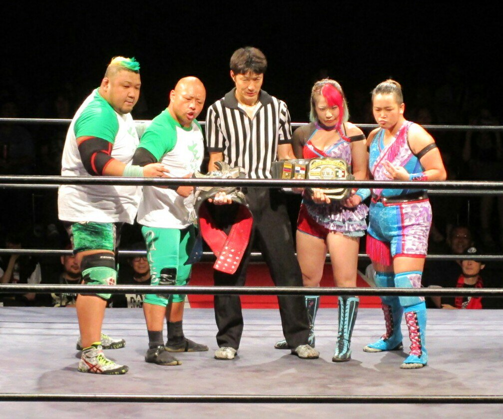 "Michinoku Pro:""Tokyo Convention Vol.4"" Doble defensa titular 25"