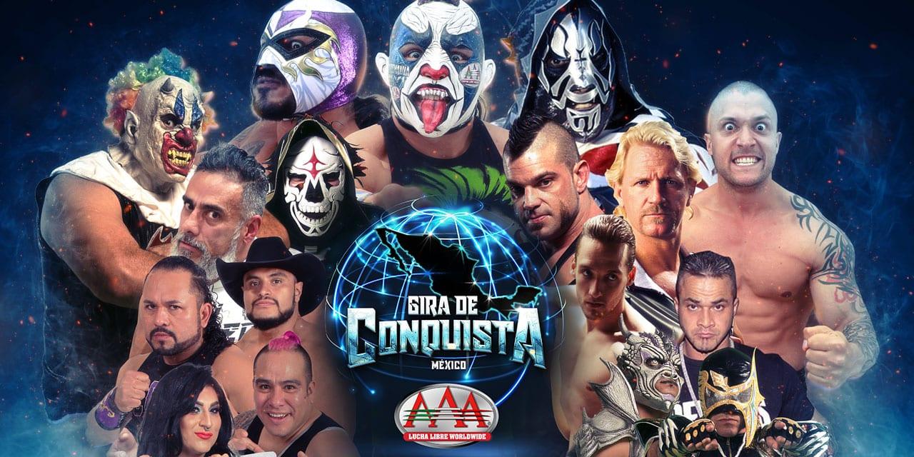 AAA: Gira de Conquista hará escala en Monterrey 13