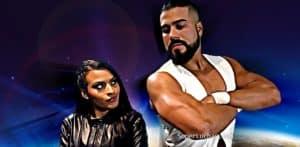 ¿Hay amor? Zelina Vega y su relación con Andrade Cien Almas 5