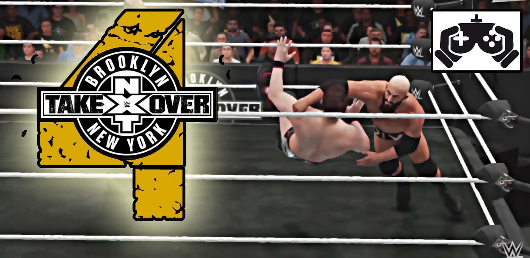 Súper Simulaciones: Así sería NXT TakeOver: Brooklyn 4 11