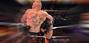 Roman Reigns elogia a Brock Lesnar