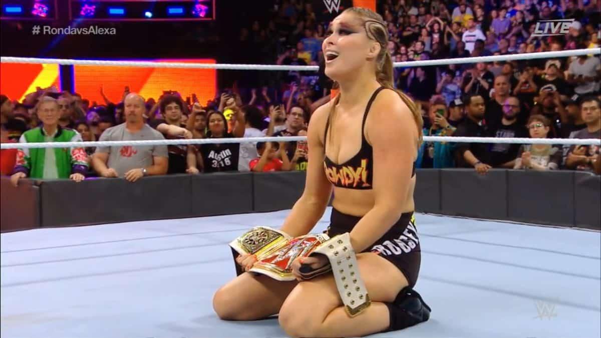 ¿Será abucheada Ronda Rousey en Survivor Series? 2