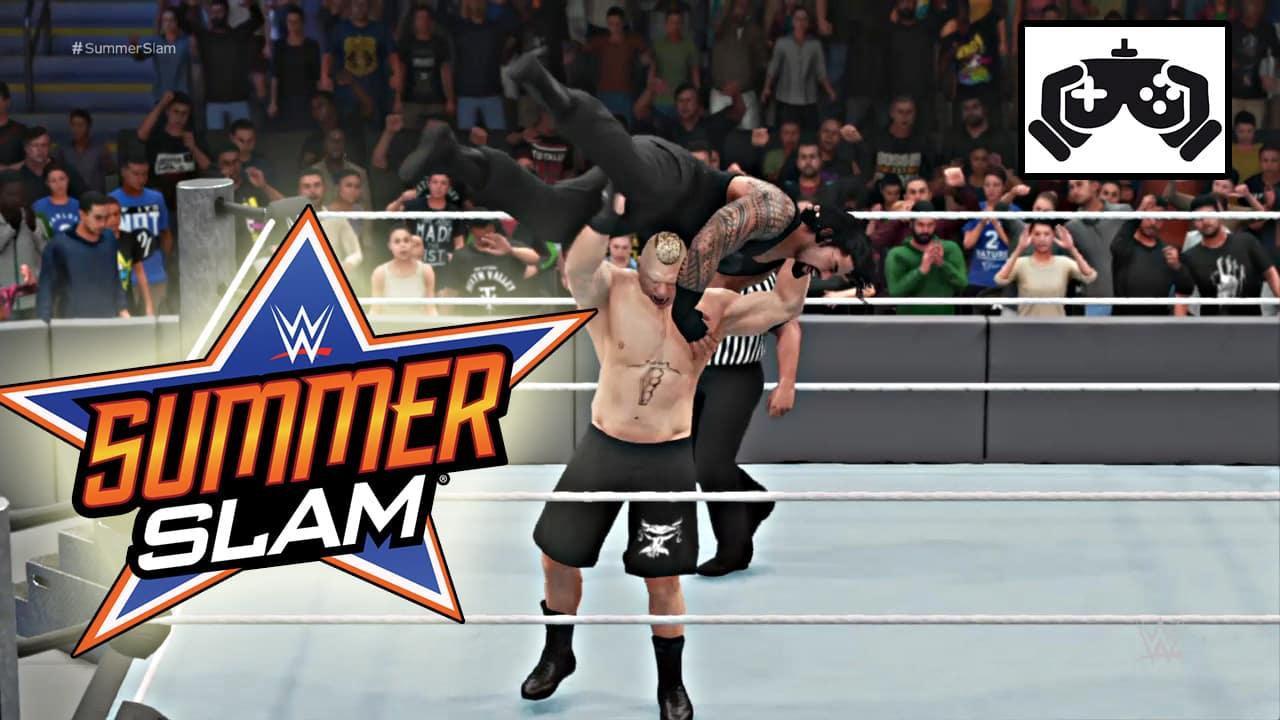 Súper Simulaciones: Así sería SummerSlam 2018 1