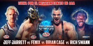AAA: El Megacampeonato se expondrá en una lucha de cuatro esquinas 6