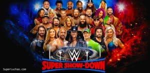 WWE Super Show Down