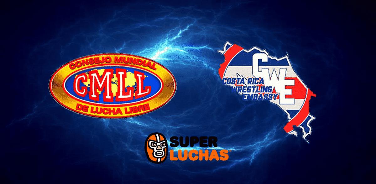 CMLL: Luchadores costarricenses llegarán a México 1