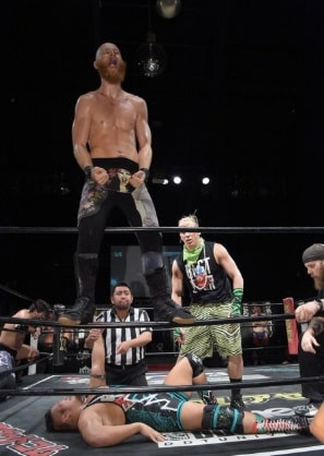 "DDT: ""Live! Maji Manji 14"" Danshoku Dino se corona 4"