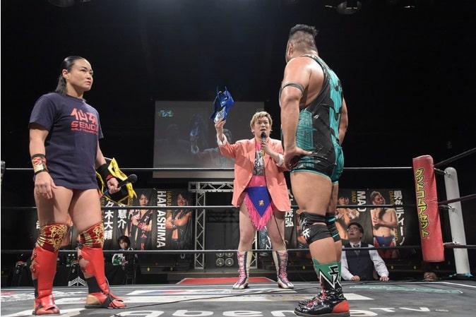 "DDT: ""Live! Maji Manji 14"" Danshoku Dino se corona 5"