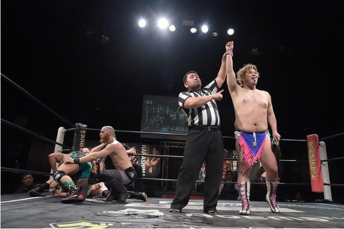 "DDT: ""Live! Maji Manji 14"" Danshoku Dino se corona 6"