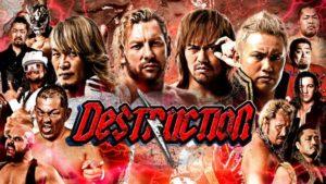 """NJPW: Carteles para """"Destruction 2018"""" 3 Título y un contrato en juego 38"""
