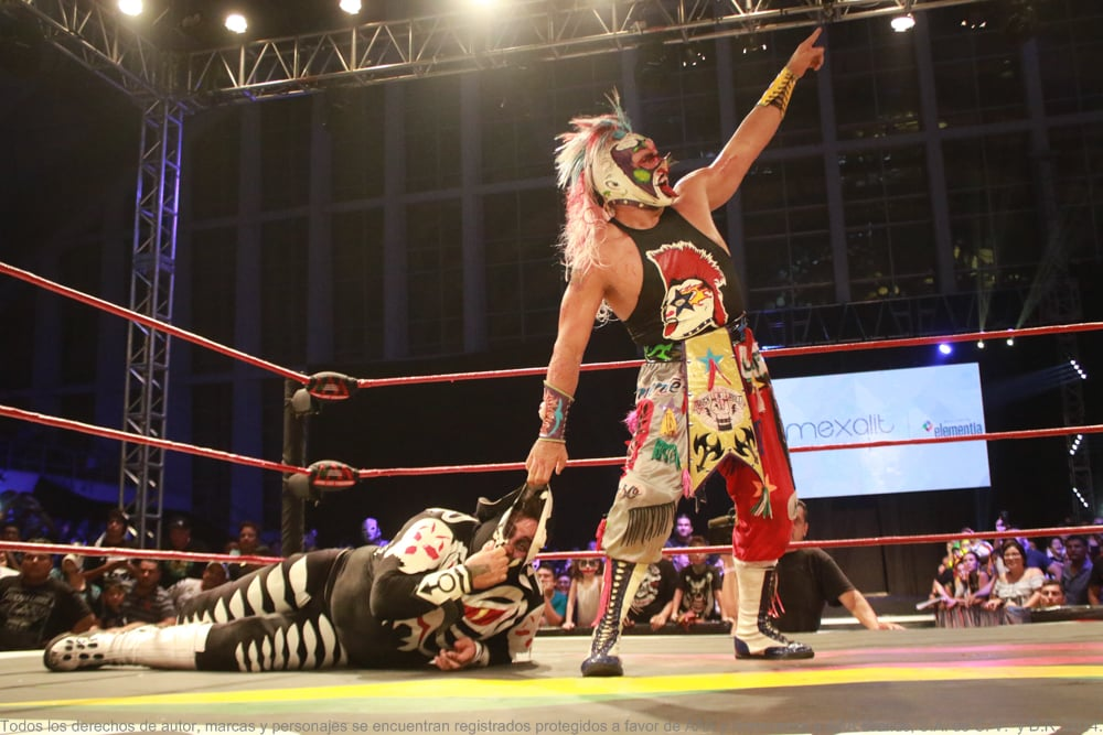 AAA: Psycho Clown triunfa en Veracruz 26