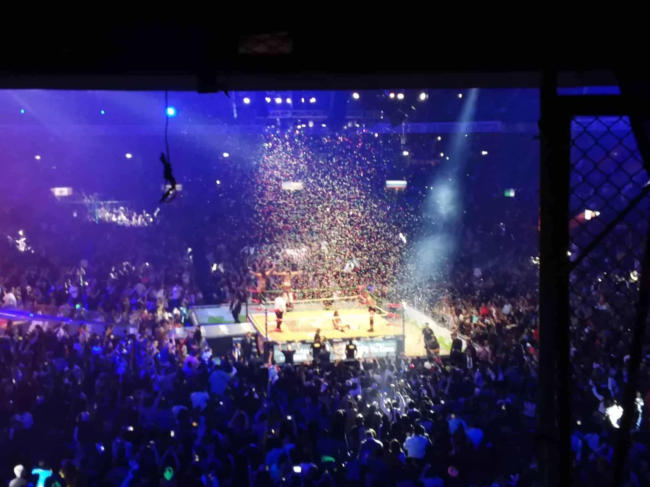 CMLL: 85 Aniversario Volador Jr. y Taven pelones 9