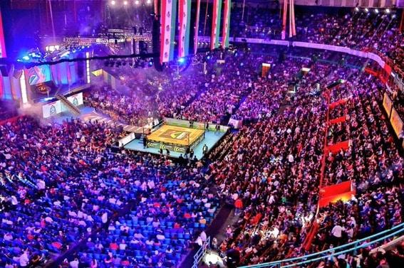 CMLL: 85 Aniversario Volador Jr. y Taven pelones 3