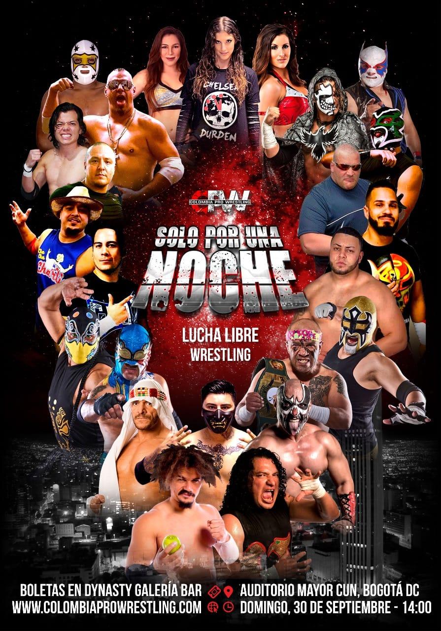 Colombia Pro Wrestling hace historia en su evento de debut 2