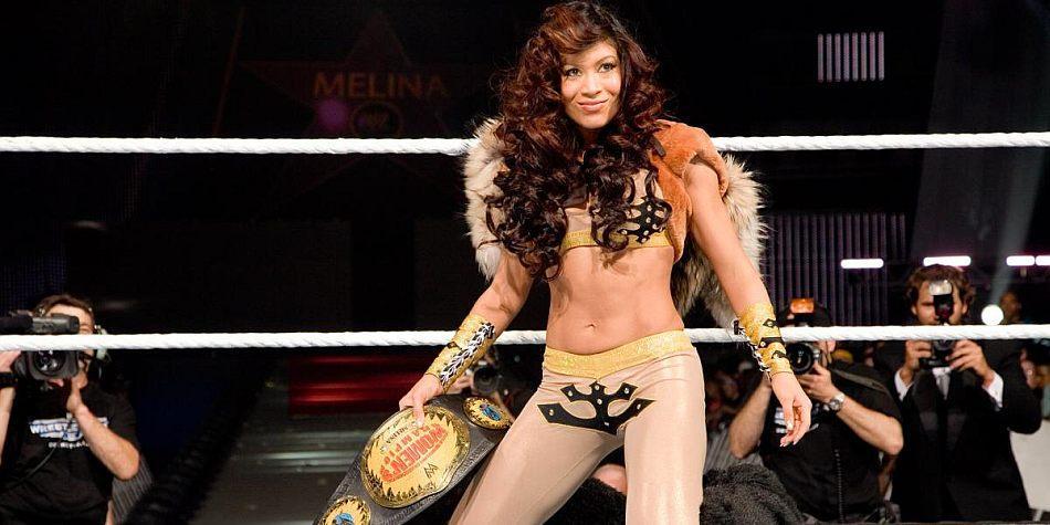 Melina en NWA