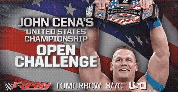 """WWE ha registrado el término """"Work Horse Open Challenge"""" 2"""