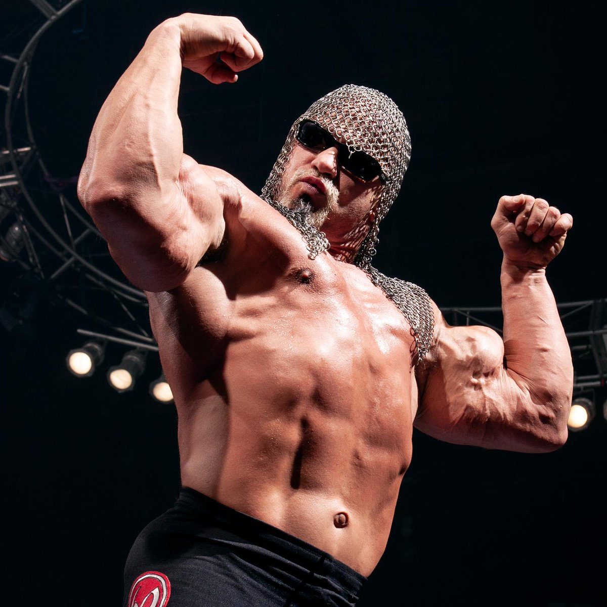 Scott Steiner al hospital