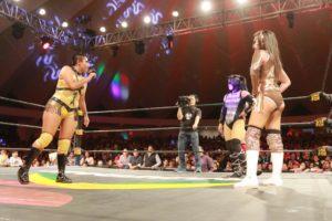 AAA vs. Elite: Keyra en pos de Faby Apache y su cinturón 21