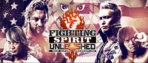 "NJPW:""Fighting Spirit Unleashed"" Golden Lovers, Cody y GOD, ganadores 5"