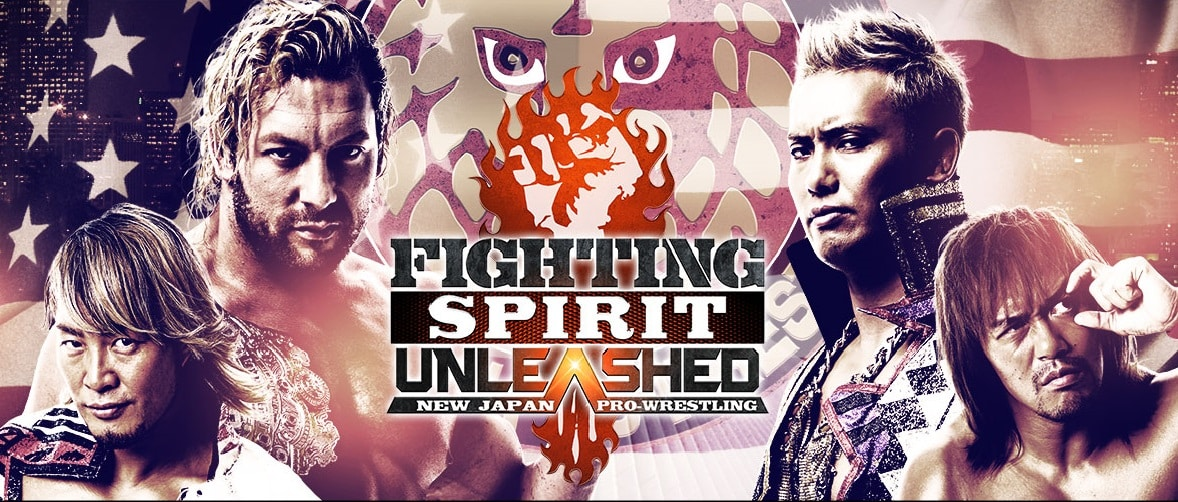"NJPW: Cartel completo para ""Fighting Spirit Unleashed"" 1"