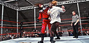 Kane vs Mankind Hell in a Cell