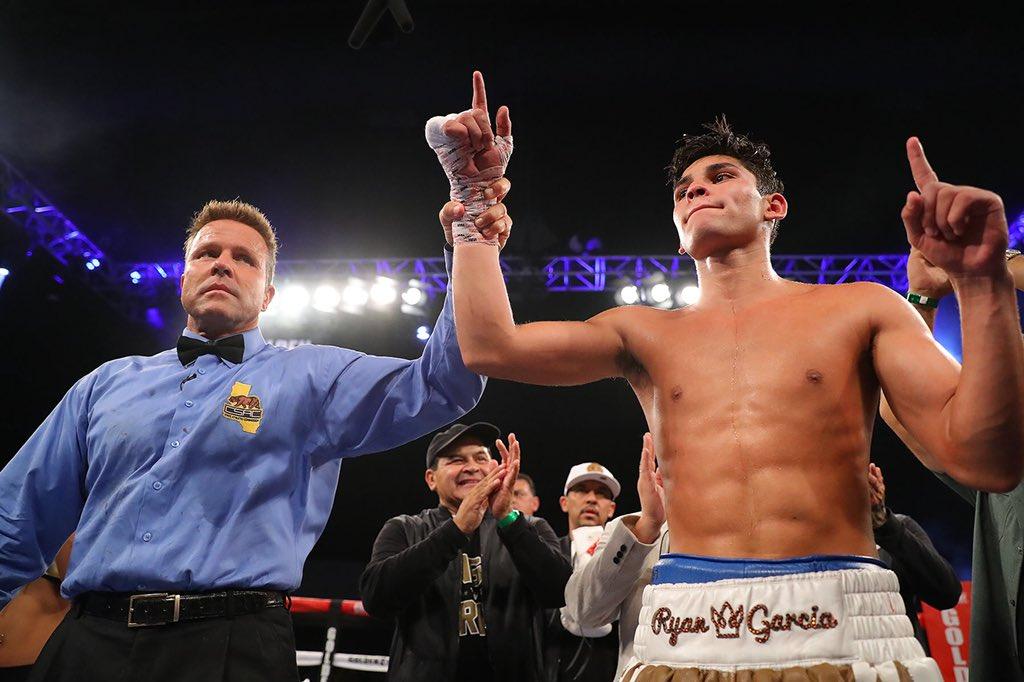 Ryan García gana su combate ante Carlos Morales 1