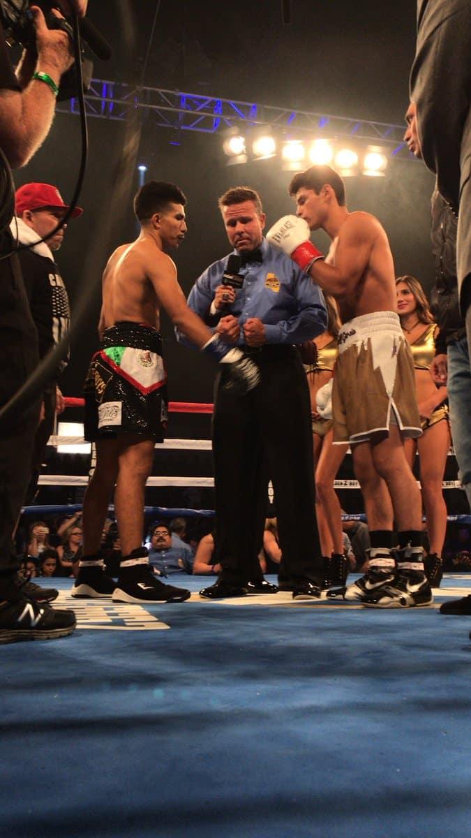 Ryan García gana su combate ante Carlos Morales 2