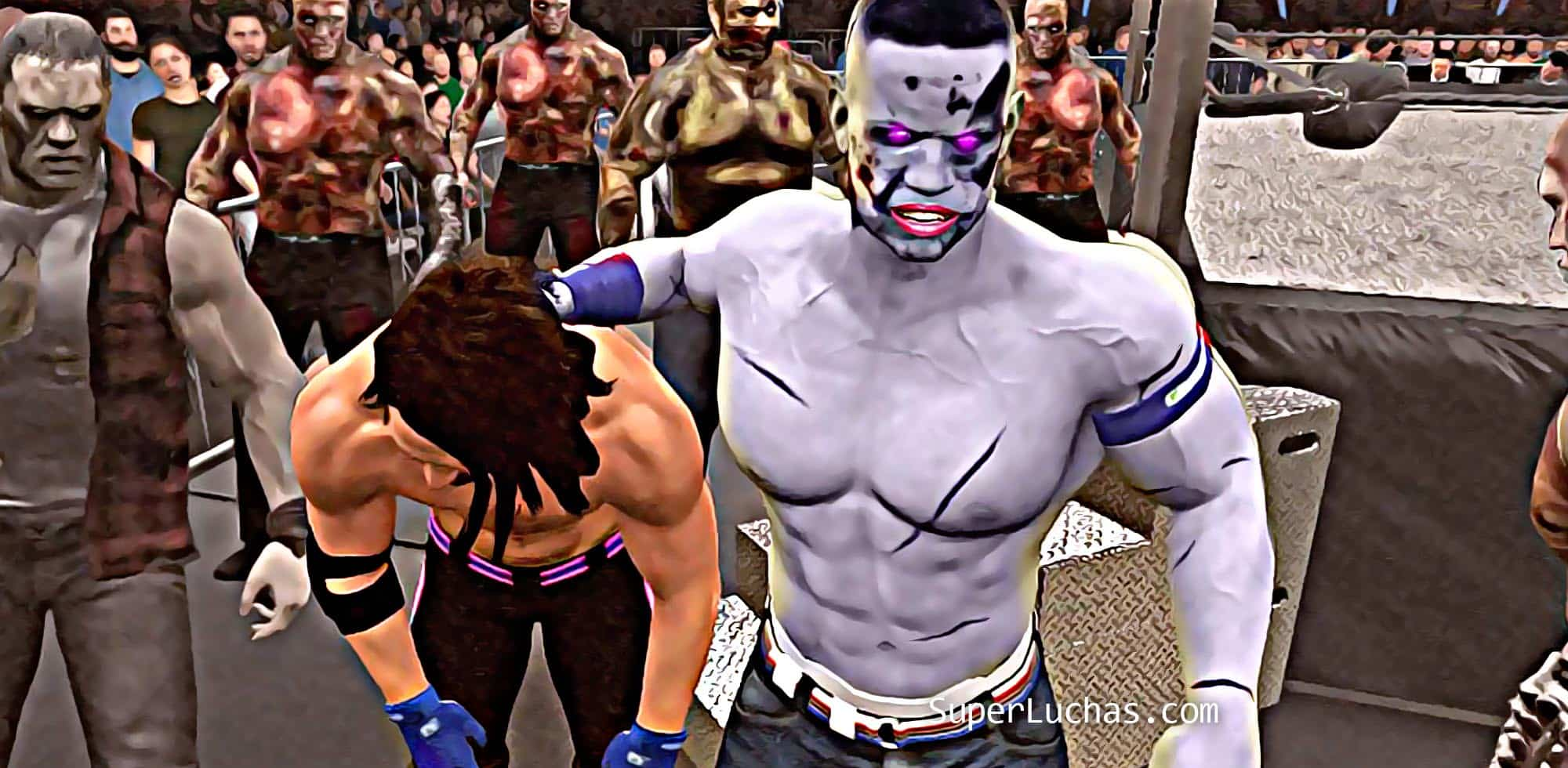 WWE 2K18 Zombies