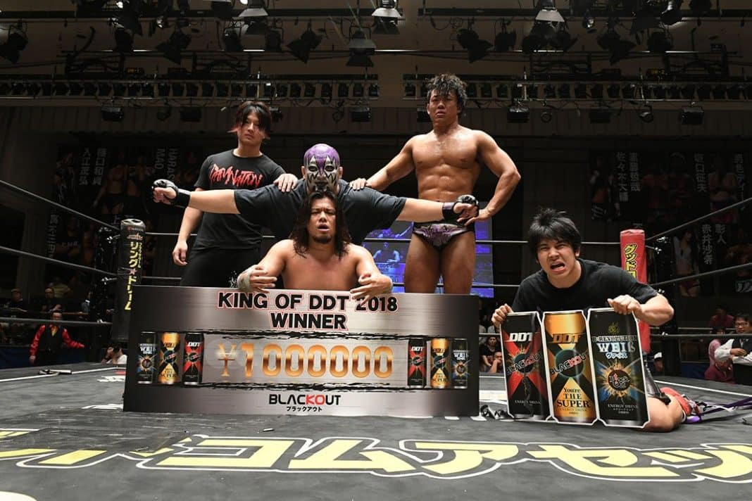 "DDT: Todo listo para el torneo ""King od DDT 2019"" 3"