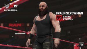 Se revelan algunos rátings de Superestrellas en el WWE 2k19 7