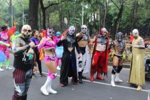 CMLL: La participación en el Desfile de Día de Muertos 39