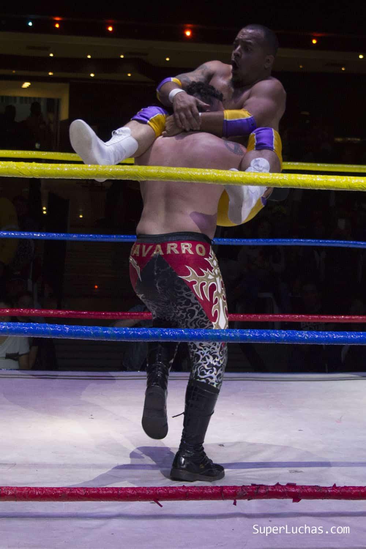 Colombia Pro Wrestling hace historia en su evento de debut 8