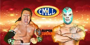 CMLL:Diamante Azul y Último Guerrero por el Campeonato Mundial de Peso Completo 32