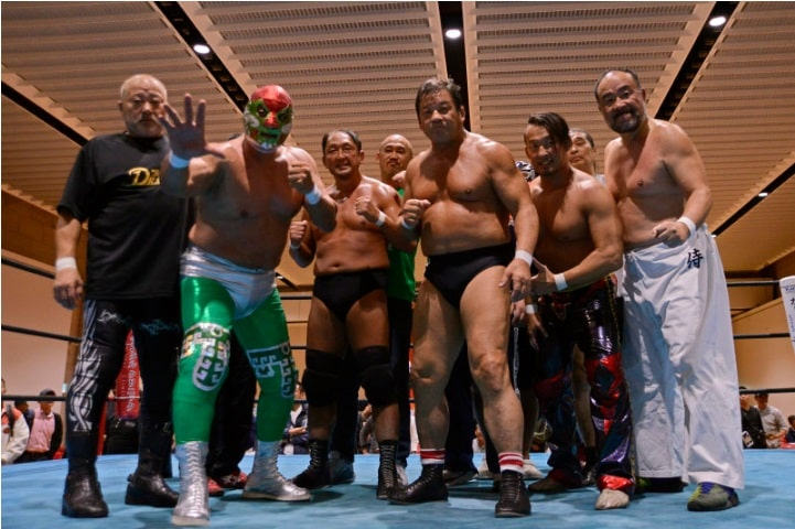 "Dradition:""The Revenge Tour"" El regreso de Canek a Japón 8"