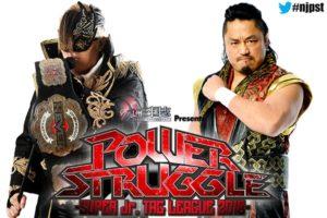 """NJPW: Taichi contra Goto se suma a """"Power Struggle 2018"""" 28"""