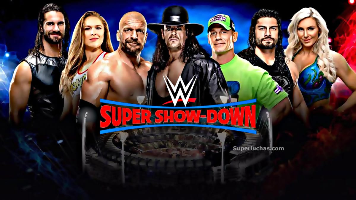 Resultados WWE Super Show-Down (06-oct-18) — Undertaker vs. Triple H 1