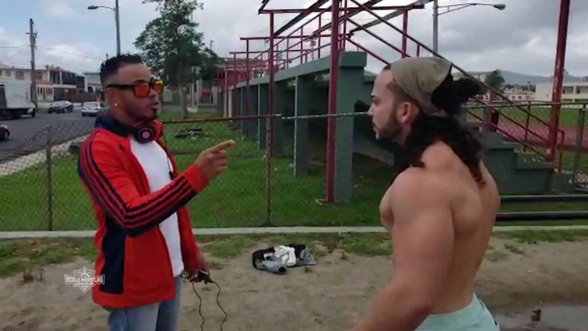 """WWL: """"El Asombroso"""" Angel Cotto llega a la Liga Mundial de Lucha Libre 16"""