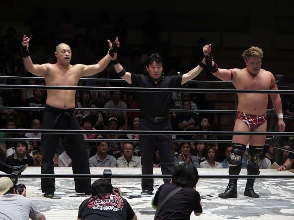 """BJW:""""Saikyou Tag League 2018"""" Takeda y Tsukamoto remontan posiciones 3"""